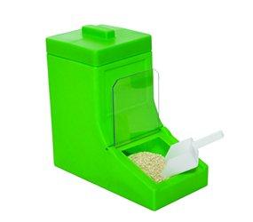plastic snack dispenser with scoop