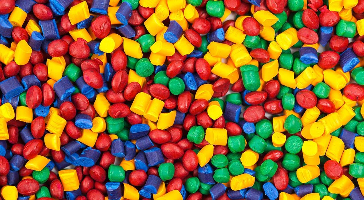 plastic moulding granules