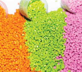 plastic resin granules