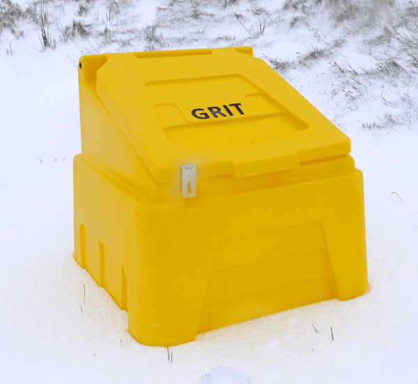 Heavy Duty Grit Bins - RW0001 - Yellow