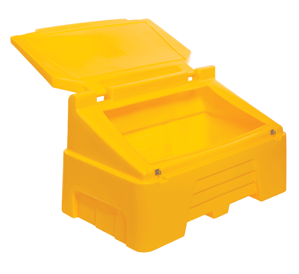 Heavy Duty Grit Bins - RW0002 - Yellow