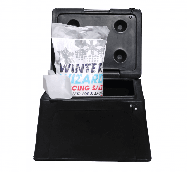 Small/Domestic Grit Bins - RW0007 - Black
