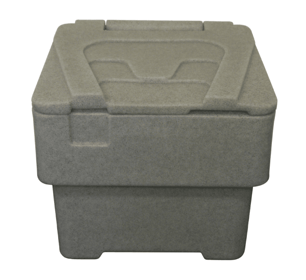 Small/Domestic Grit Bins - RW0020 - Mottled Grey