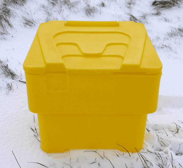Small/Domestic Grit Bins - RW0020 - Yellow