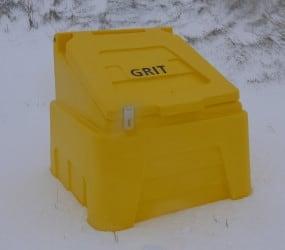 yellow grit box