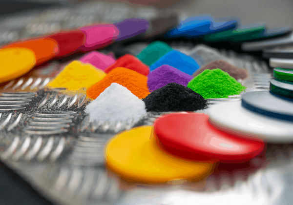 plastic coating coloured powder